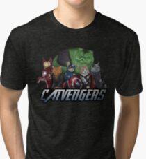 Les Catvengers T-shirt chiné