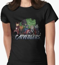 The Catvengers Women's Fitted T-Shirt