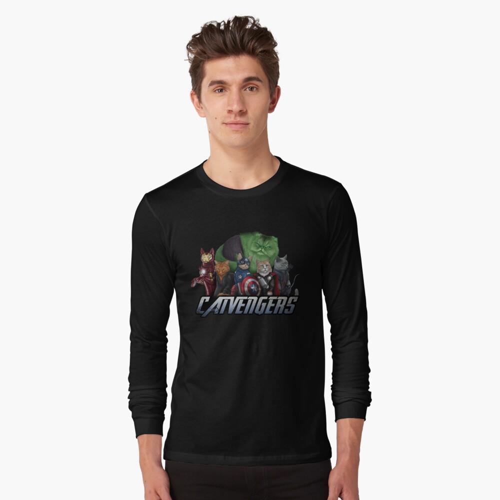 The Catvengers Long Sleeve T-Shirt