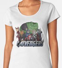 The Catvengers Women's Premium T-Shirt