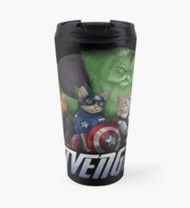 The Catvengers Travel Mug