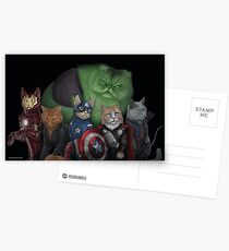 The Catvengers Postcards