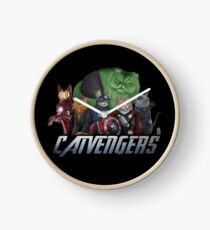 The Catvengers Clock