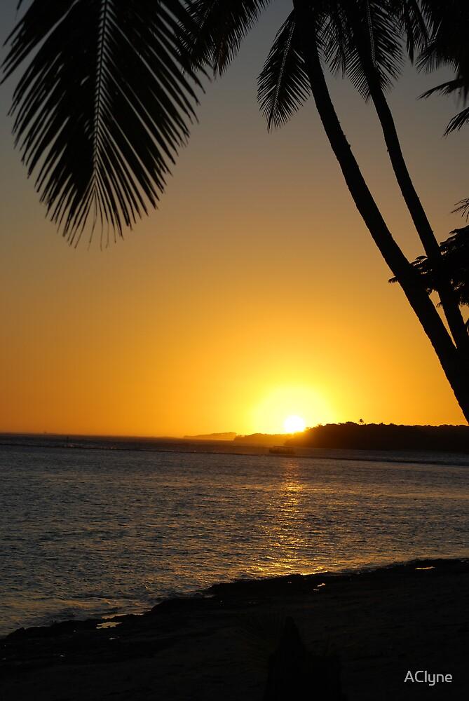 Fiji Sunset by AClyne