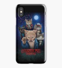 Strange Fur Things iPhone Case