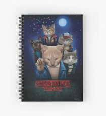 Strange Fur Things Spiral Notebook