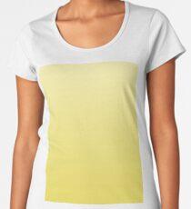 Bright Meadowlark yellow ombre Women's Premium T-Shirt