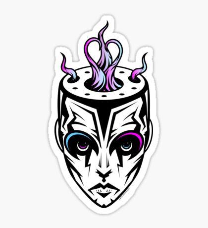 Burn - synthwave remix Sticker