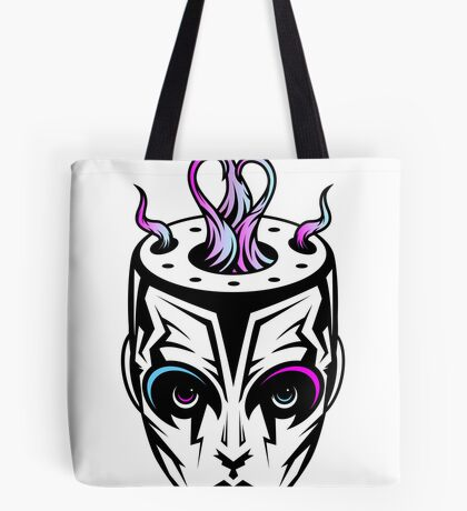 Burn - synthwave remix Tote Bag