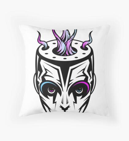 Burn - synthwave remix Throw Pillow