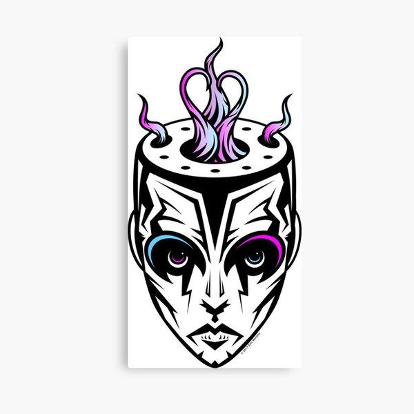 Burn - synthwave remix Canvas Print