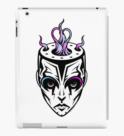 Burn - synthwave remix iPad Case/Skin