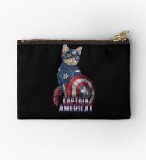 Captain Americat Zipper Pouch