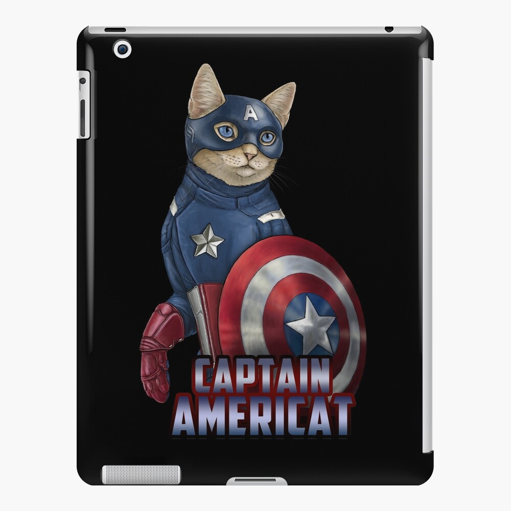 Captain Americat iPad Case & Skin