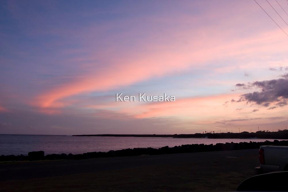 Violet Sunset by Ken Kusaka