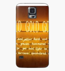 Gold gold gold Case/Skin for Samsung Galaxy