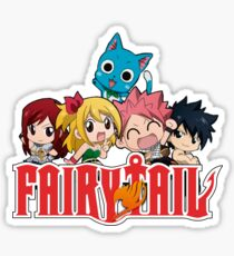 Fairy Tail Chibi Sticker