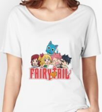 Fairy Tail Chibi  Women's Relaxed Fit T-Shirt