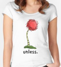 unless. Women's Fitted Scoop T-Shirt