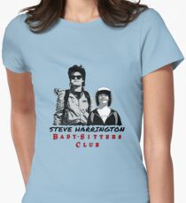 Steve Harrington - Babysitters Club Women's Fitted T-Shirt