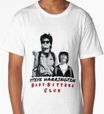 Steve Harrington - Babysitters Club Long T-Shirt