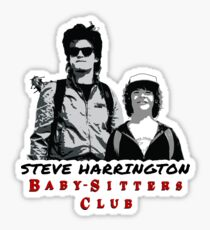Steve Harrington - Babysitters Club Sticker