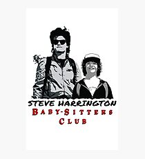Steve Harrington - Babysitters Club Photographic Print