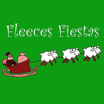 Fleeces Fiestas | Santas Sheep by Perspectvas
