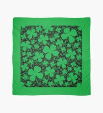 A Shamrock Field for St Patrick's Day Scarf
