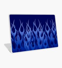 Racing Flames Laptop Skin
