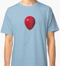 Roter IT-Ballon Classic T-Shirt