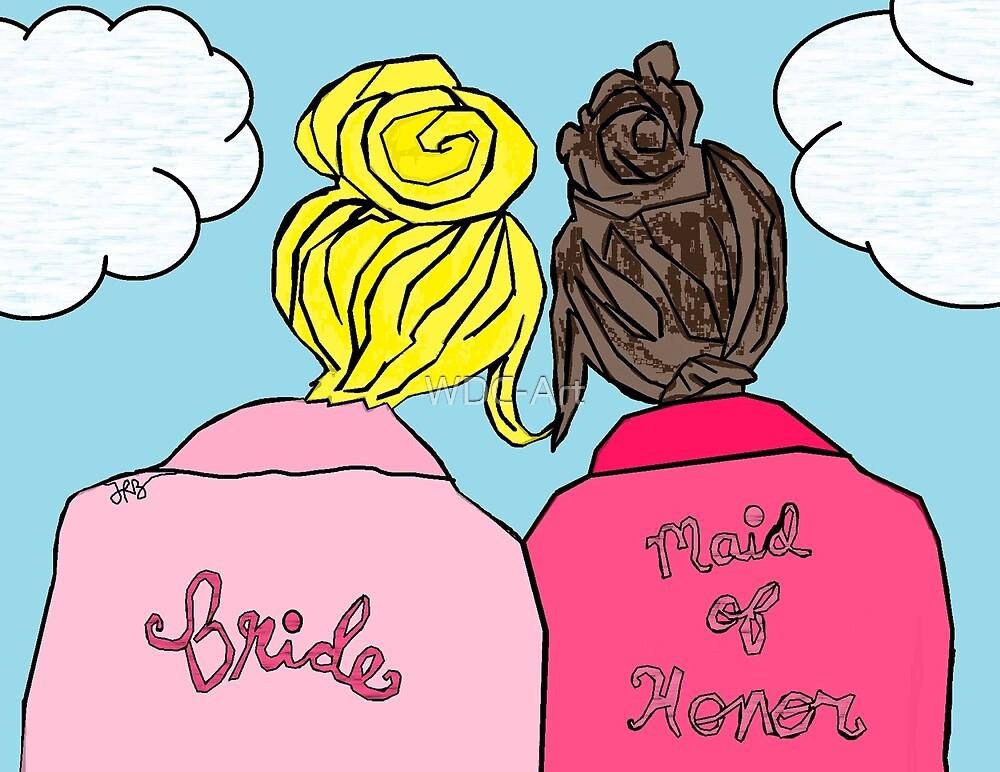 Bride & Maid of Honor by WDC-Art