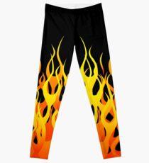 Racing Flames Leggings