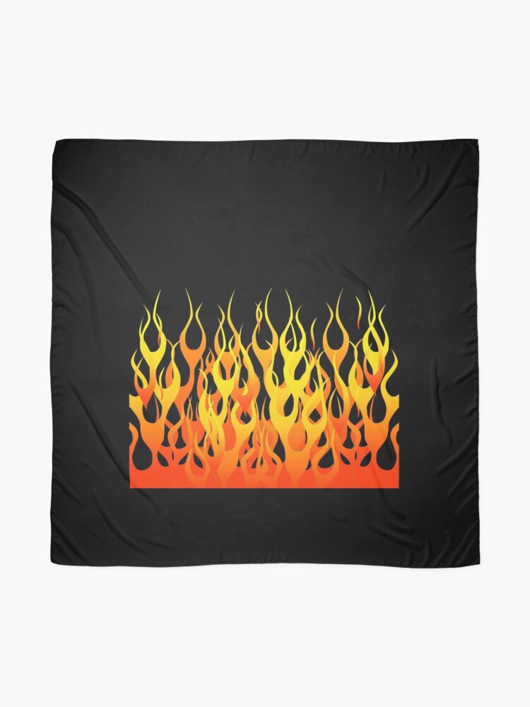 Alternate view of Racing Flames Scarf