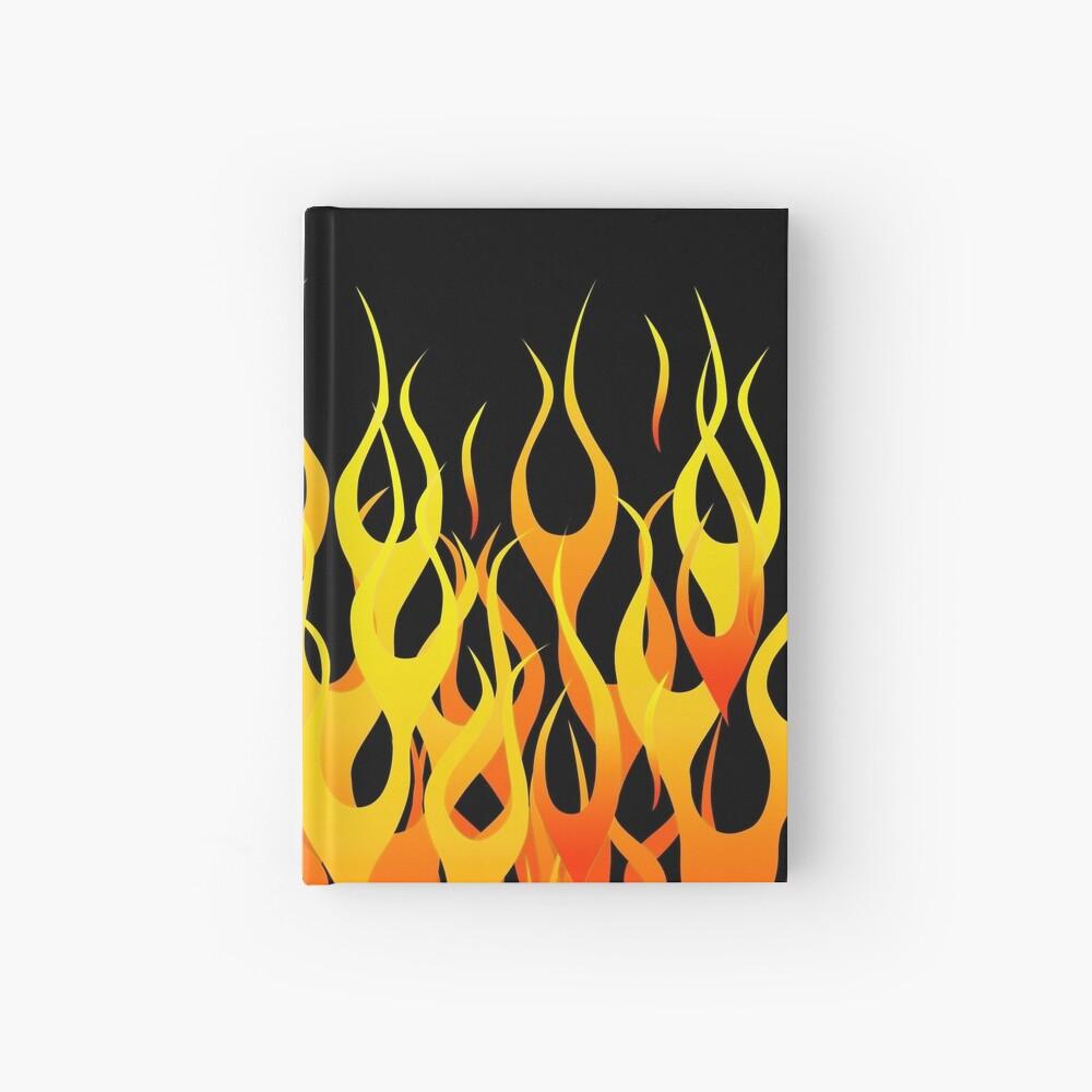 Racing Flames Hardcover Journal