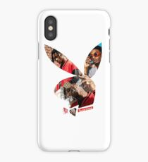 Playboi Carti Playboy Bunny Collage (Small Logo) iPhone Case/Skin
