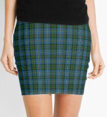 00066 Green Macleod Clan/ Family Tartan  Mini Skirt