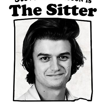 Steve Harrington is The Sitter by Numnizzle