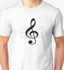 Treble clef t-shirt T-Shirt