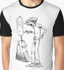 Man and his mirror Graphic T-Shirt