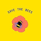 SAVE THE BEES by aezee