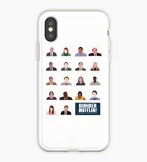 Vinilo o funda para iPhone Dunder Mifflin Rolecall!