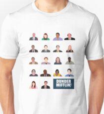 Dunder Mifflin Rolecall! Unisex T-Shirt
