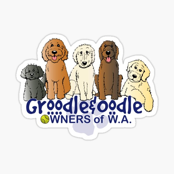 Groodle & Oodle Club Sticker