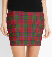 00061 Grant (Official) Clan/Family Tartan  Mini Skirt