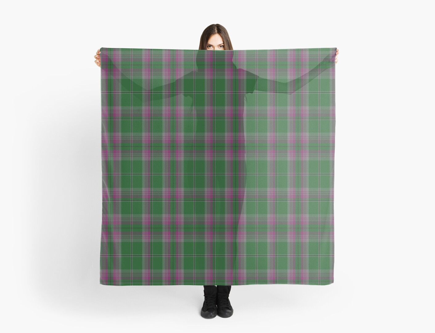 00055 Gray Clan/Family (Hunting) Tartan  by Detnecs2013
