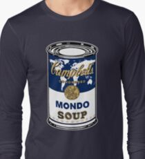 """""""Mondo Blue"""", Warhol inspired Campbell's soup can T-Shirt"""