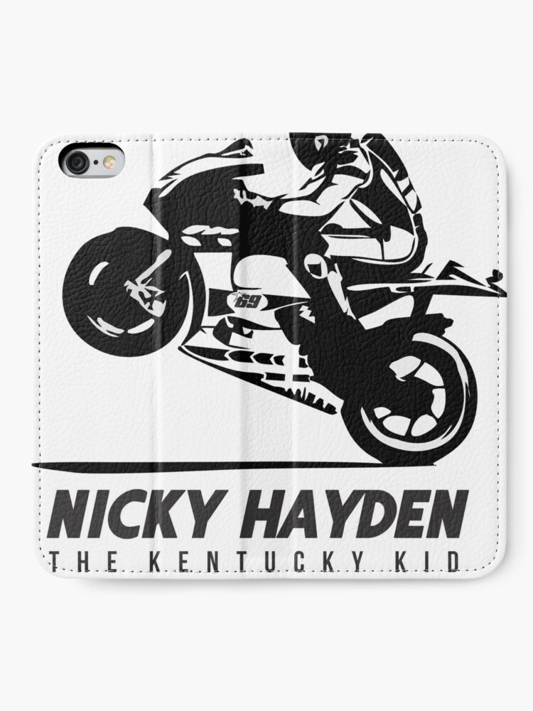 Nicky Hayden the Kentucky Kid extreme motorcycle Tribute Baby Hoodie