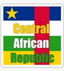 Central Africa Republic  Sticker
