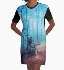 silent sadness Graphic T-Shirt Dress
